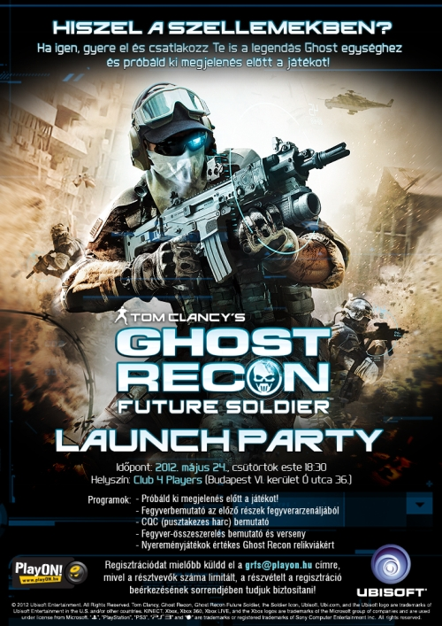 Ghost Recon: Future Soldier Launch Party
