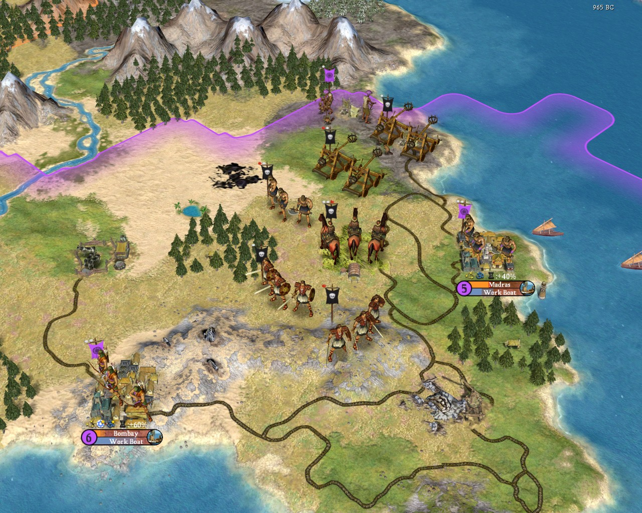 Civilization IV: Warlords - foltocska