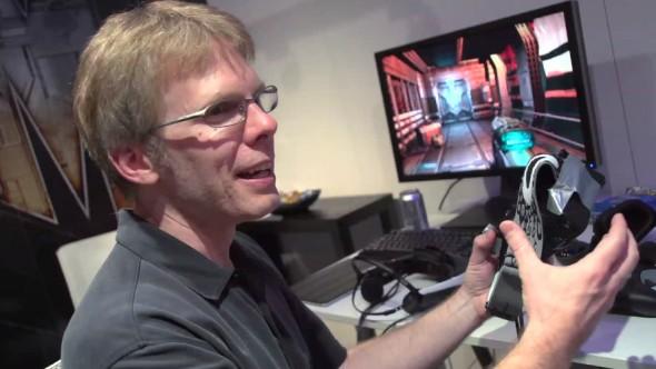 John Carmack az Oculus Riftet fejleszti