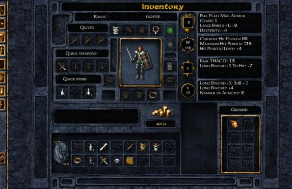 Baldur's Gate: Enhanced Edition  PC-s és Maces játékképek a3bd6e8e8530bedfa48b