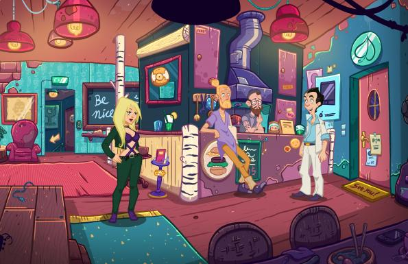 Leisure Suit Larry – Wet Dreams Don't Dry Játékképek 4974140e4e5202731b74