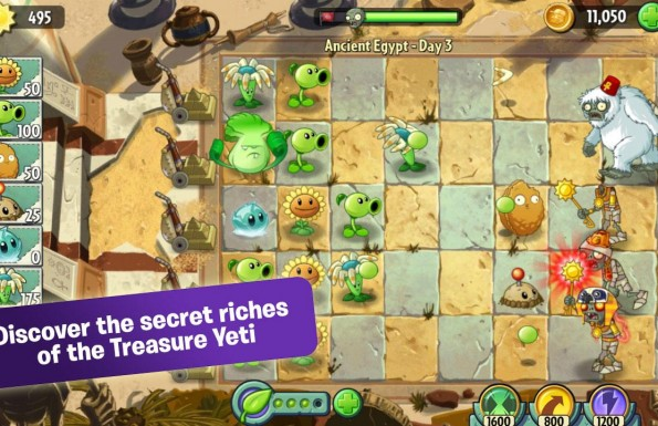 Plants vs. Zombies 2: It's About Time  Játékképek 6bb66580e45b5aa4e360