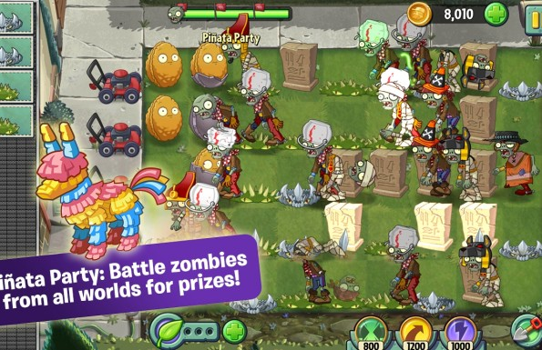 Plants vs. Zombies 2: It's About Time  Játékképek 7f9891a88bb32e0a023f