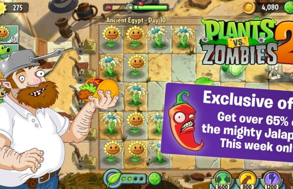 Plants vs. Zombies 2: It's About Time  Játékképek bfeb21358d9582610427