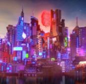 Egy hét múlva megnyílik a Cyberpunk 2077 városa - a Minecraftban