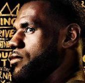 NBA 2K19 – LeBron James a 20th Anniversary Edition borítóján